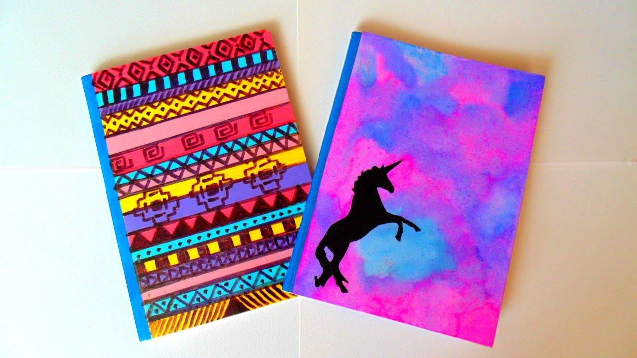 Diy decora tus cuadernos f cil y bonito youtube - Decorar album de fotos por dentro ...
