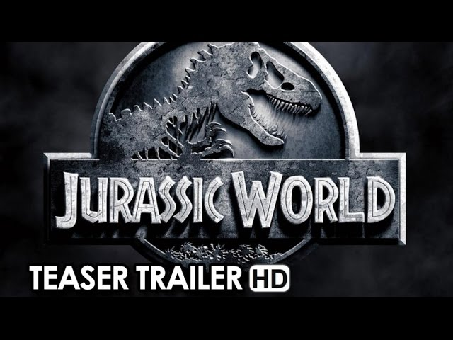 JURASSIC WORLD Teaser Trailer Announcement (2015) - Chris Pratt HD