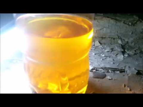 Масло в соляру. Доочистка химии.