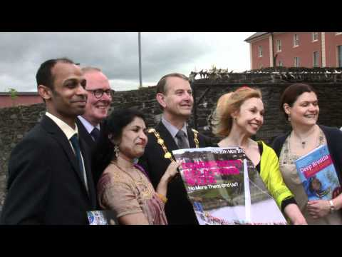 Video report of the North-West launch of NI Community Relations Week 2012 which was held at the Verbal Arts Centre, Derry/Londonderry.