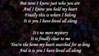 Watch Dana Glover It Is You i Have Loved video