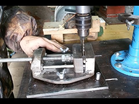 336Изготовление тисков для сверлильных станков
