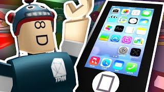 ESCAPE THE GIANT IPHONE?!   Roblox