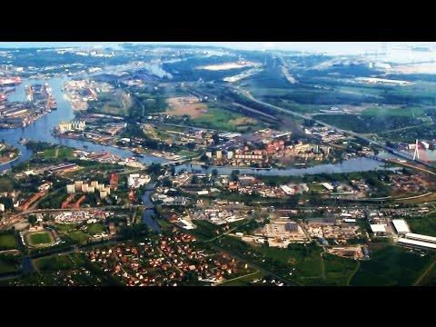 Lot Z Krakowa Przez Warszawę Do Gdańska / Flight From Krakow Via Warsaw To Gdansk