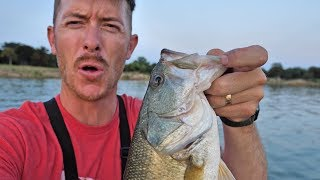 BACK IN MY BOAT! Fishing Googan Worms for Summer Bass