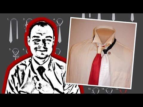 How to Tie a Necktie: Miniature Knot