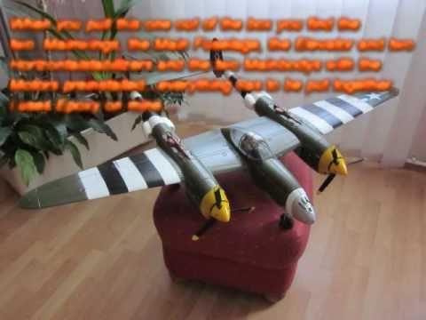 HobbyKing P 38 Lightning