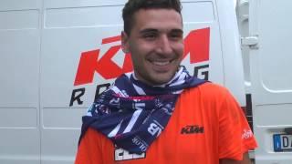 Cantalice 2015, Campionato Italiano Quad FMI, intervista Alessio Santi