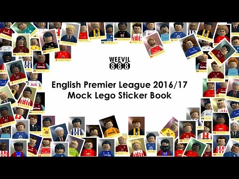 Premier League Lego Sticker Book 2016/17