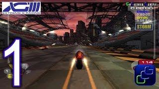 XGIII: Extreme G Racing Walkthrough - Gameplay Part 1 - Talon Career - Lithium League