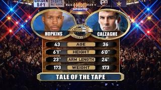 The best moments Joe Calzaghe vs. Bernard Hopkins / Лучшие моменты Джо Кальзаге vs. Бернард Хопкинс