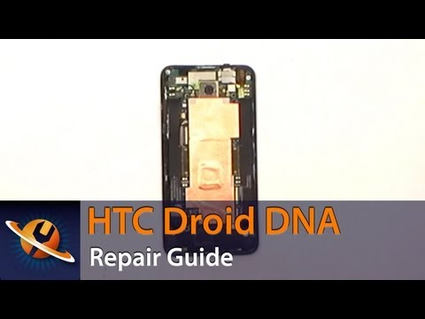 HTC Droid DNA Screen Replacement Repair Guide