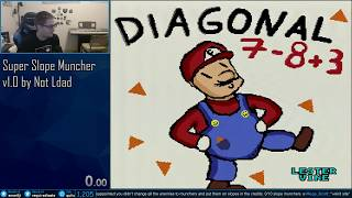 Meme Hack: Super Diagonal Mario World 2 - Full Play
