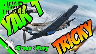 YAK1 - War Thunder - 2 types of overshooting - Defensive flying