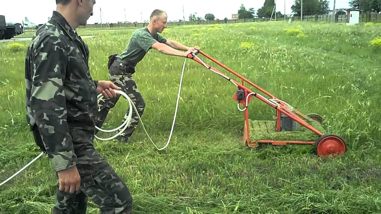 Сенокосилка для высокой травы своими руками 90