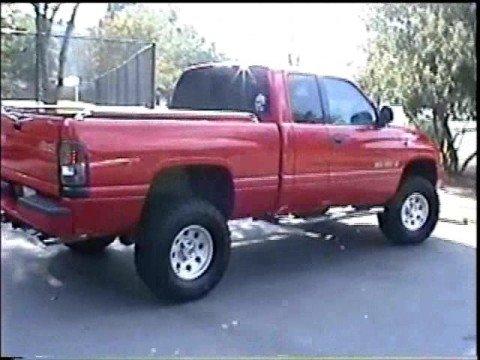 Dodge Ram 5 9 Exhaust Flowmaster 40 Youtube