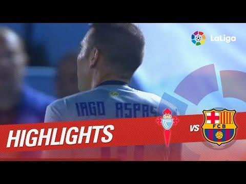Resumen de Celta de Vigo vs FC Barcelona (4-3)