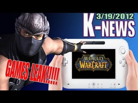 News - Wii U Eshop massive games leak! World of Warcraft & many more