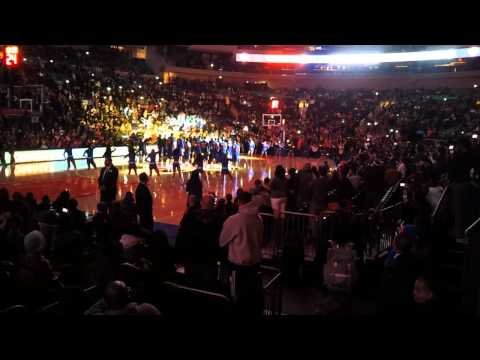 NY Knicks Orange & Blue Scrimmage