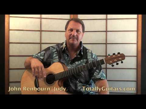 John Renbourn - Judy Guitar lesson