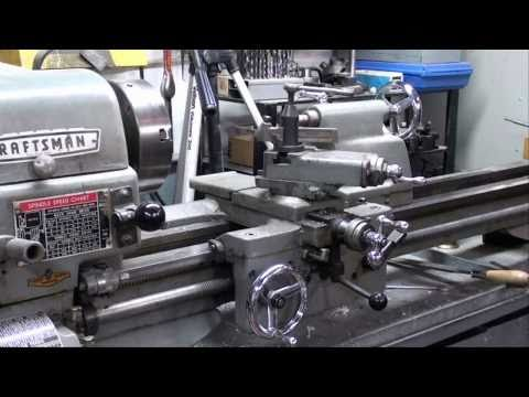 MACHINE SHOP TIPS #30 Facing on the Atlas Lathe Part 1 tubalcain