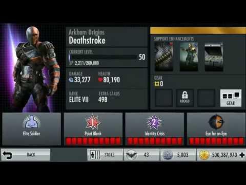 Arkham Origins Deathstroke Injustice Injustice Ios | Arkham Origins