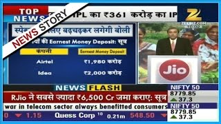 Reliance Jio submits Earnest money for spectrum