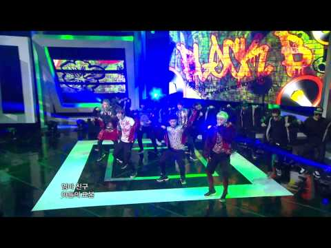Block B - Nanrina, 블락비 - 난리나, Music Core 20120211 video