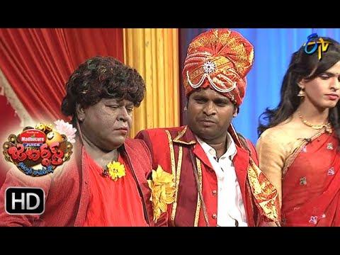 Jabardasth Telugu Comedy Show ,28th July 2017,Racha Ravi performance - ETV Telugu