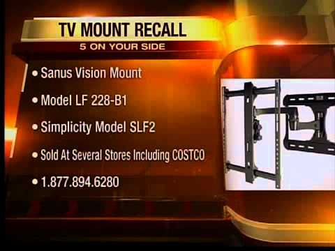 Recall roundup: Toyota, Garmin nuvi, TV wall mounts and eggs