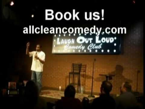 Clean Comedy stand up.  Book us!