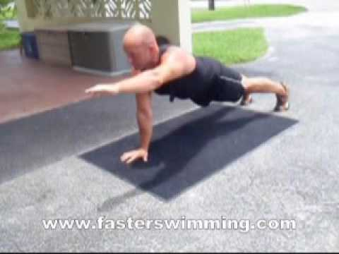 Faster Swimming Core Training #1