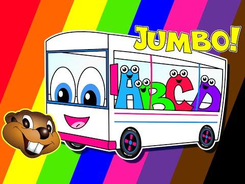 The Wheels On The Bus | Jumbo Version | Popular Kindergarten Rhyme | Little Baby Song | Kids Video video