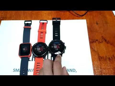 Amazfit BIP vs Pace vs Amazfit 2 Stratos Comparison Review