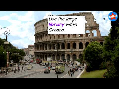 Creaza - online video editing tool