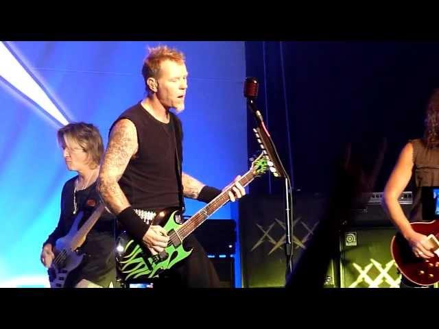 Metallica w Bob Rock - Dirty Window Live in San Francisco, December 10th, 2011