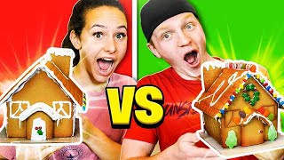 GINGERBREAD HOUSE BUILDING CHALLENGE!