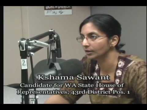 TalkingStickTV - Kshama Sawant - Candidate for WA State House of Representatives