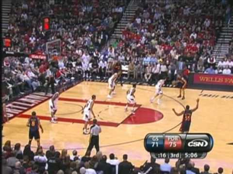 Stephen Curry vs. Blazers (4.14.10) Video