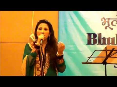 Simrat Chhabra performing Aap Ki Nazron Ne Samjha Pyar Ke Kabil...