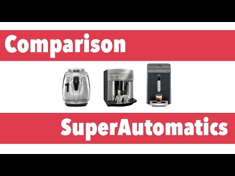 Superautomatic Espresso Machines | CR Comparison