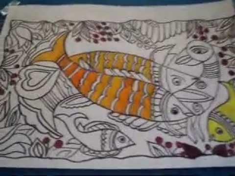 Madhubani Painting Youtube