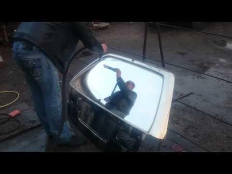 хромирование керхером (хим металлизация) стекло