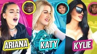 Going Through Drive Thru's Dressed as Celebrities | DENYZEE