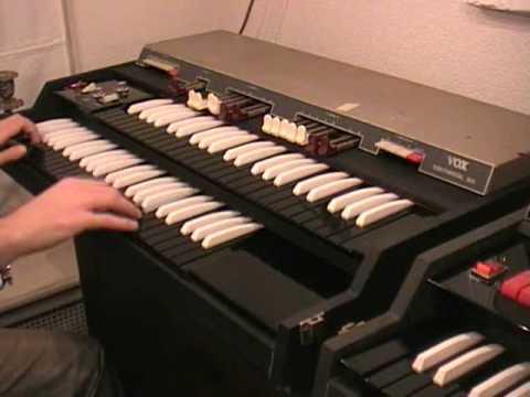 Vox | Continental / Jaguar / Corinthian / 300 / Jennings J70 organs