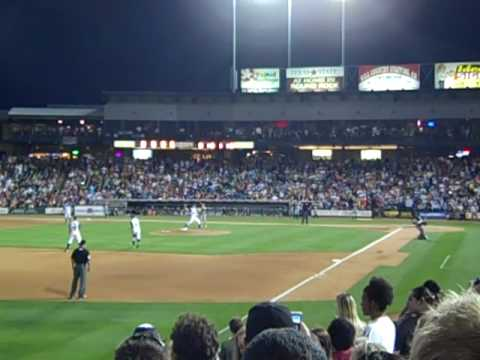 "Comedy legend Will Ferrell visited Dell Diamond on Thursday, May 6, 2010 in Round Rock, Texas. Ferrell came as Billy Ray ""Rojo"" Johnson, a Venezuelan phenom ..."