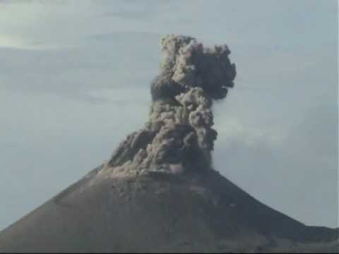 Krakatau spectacular explosive eruptions november 2010