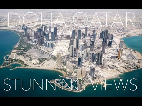 DOHA & QATAR Amazing Aerial Views - See the Beauty of Qatar &...