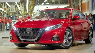 2019 Nissan Altima Production