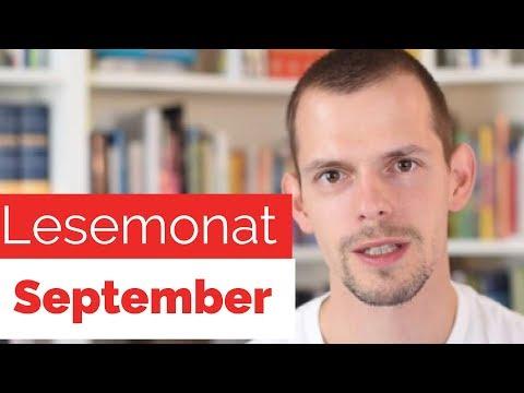 Lesemonat September - gelesene Bücher